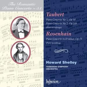 The Romantic Piano Concerto 51 - Taubert & Rosenhain