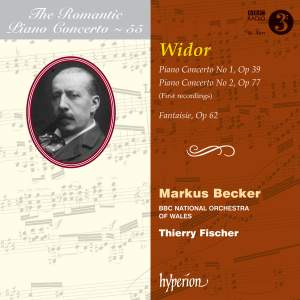 The Romantic Piano Concerto 55 - Widor