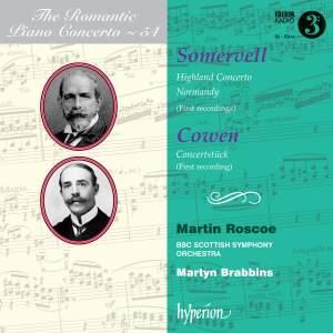 The Romantic Piano Concerto 54 - Somervell & Cowen