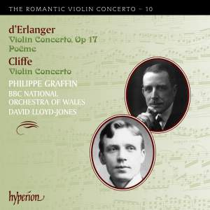 The Romantic Violin Concerto 10 - Cliffe & Erlanger