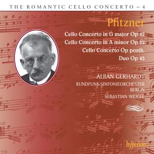 The Romantic Cello Concerto, Vol. 4: Pfitzner