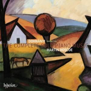 Dohnányi: The Complete Solo Piano Music, Vol. 2