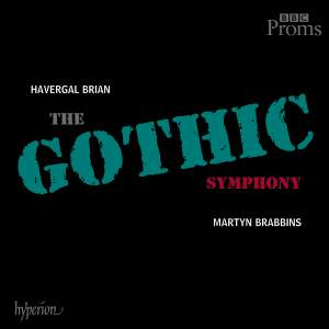 Brian: Symphony No. 1 'Gothic', etc. Product Image