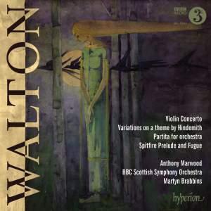 Walton: Violin Concerto, Partita & Hindemith Variations Product Image