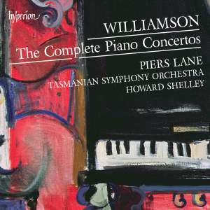 Malcolm Williamson: The Complete Piano Concertos Product Image