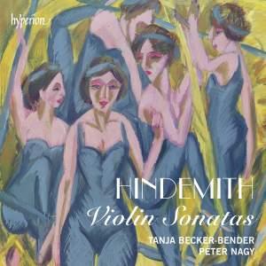 Hindemith: Violin Sonatas Product Image