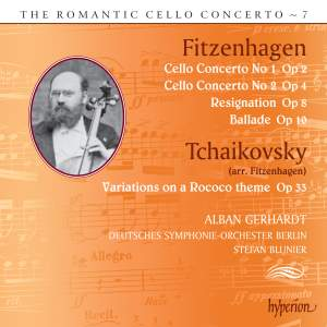 The Romantic Cello Concerto, Vol. 7: Fitzenhagen & Tchaikovsky