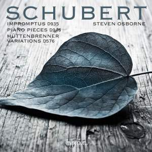 Schubert: Impromptus, Piano pieces & Variations