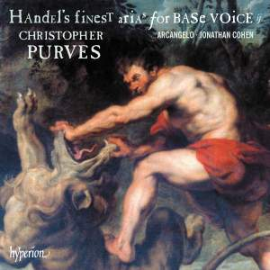 Handel's Finest Arias for Base Voice, Vol. 2