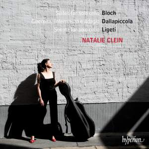 Bloch, Ligeti & Dallapiccola: Suites for solo cello Product Image