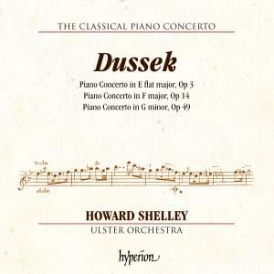 J L Dussek: Piano Concertos Opp 3, 14 & 49