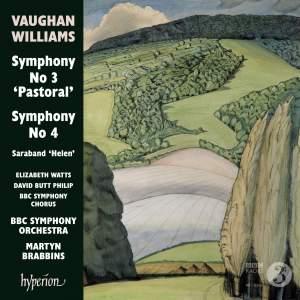 Vaughan Williams: Symphonies Nos. 3 & 4 Product Image