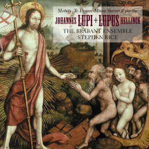 Hellinck: Missa Surrexit pastor; Lupi: Te Deum & motets Product Image