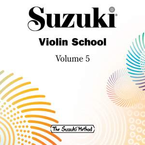 Suzuki Violin School, Vol. 5