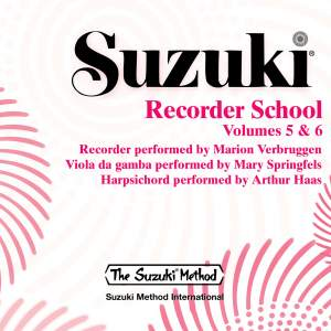 Suzuki Recorder School, Vols. 5 & 6