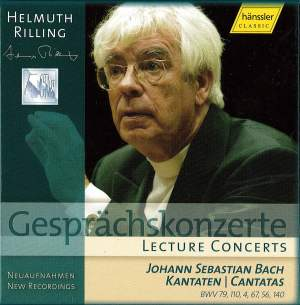 Lecture Concerts - Bach Cantatas 79, 110, 4, 67, 56 & 140