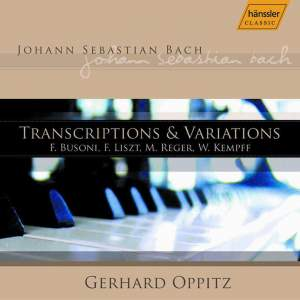 J. S. Bach: Transcriptions & Variations