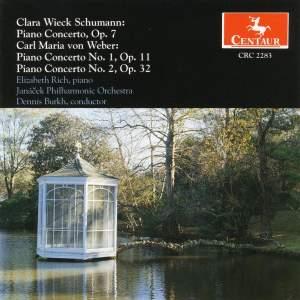 Clara Schumann & Weber: Piano Concertos