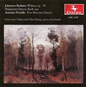 Brahms & Dvorak: Works for Piano Duet
