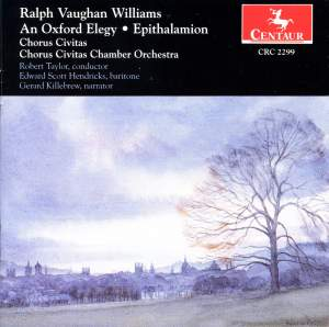 Vaughan Williams: An Oxford Elegy, etc.