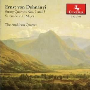Dohnanyi: String Quartets Nos. 2 and 3 & Serenade in C major
