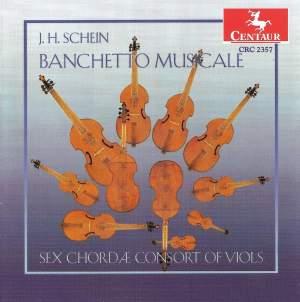 Schein: Suites from Banchetto Musicale