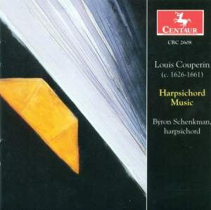 Louis Couperin: Harpsichord Music
