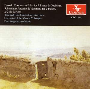 Dussek: Concerto for 2 Pianos in B flat major