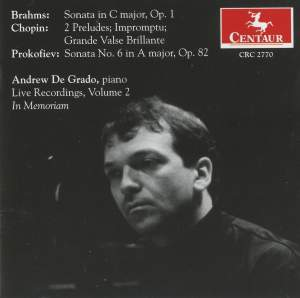 De Grado - Live Recordings, Volume 2, in Memoriam