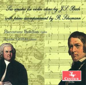 JS Bach Violin Sonatas with Piano Accompaniment by Schumann