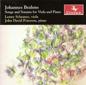 Brahms: Songs and Sonatas for Viola and Piano