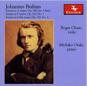 Brahms: Sonatas for Viola and Piano