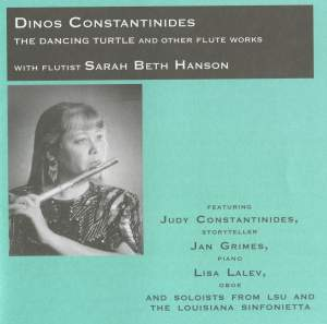 Dinos Constantinides: The Dancing Turtle and Other Flute Works