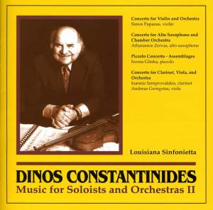 Constantinides: Music for Soloists and Orchestras, Vol. 2