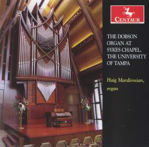 The Dobson Organ at Sykes Chapel, The University of Tampa