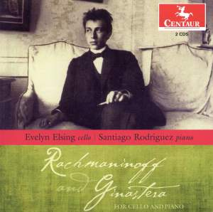 Rachmaninov & Ginastera for Cello & Piano