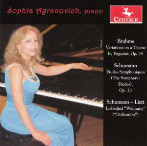 Brahms, Schumann & Liszt: Works for Piano
