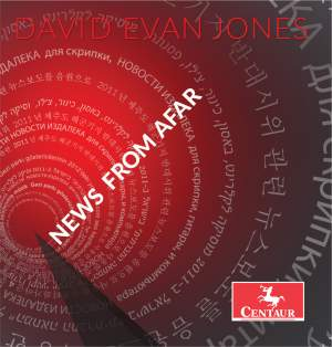 David Evan Jones: News from Afar