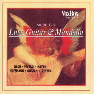 Music for Lute, Mandolin & Guitar