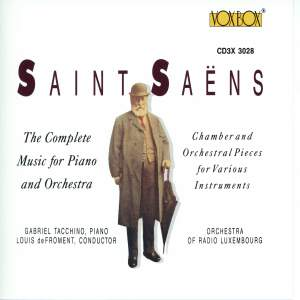 Saint-Saens: Complete Music for Piano and Orchestra
