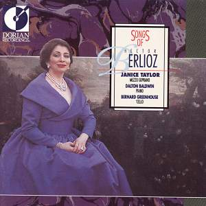 Songs of Hector Berlioz Product Image