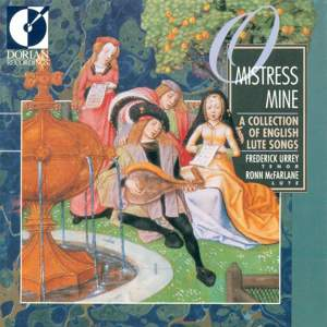 O Mistress Mine (A Collection of English Lute Songs) Product Image