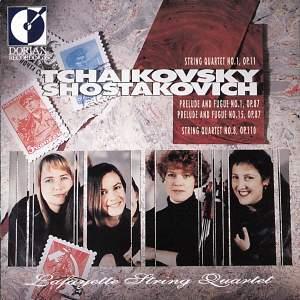 Lafayette String Quartet play Tchaikovsky & Shostakovich Product Image