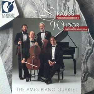 Strauss & Widor: Piano Quartets Product Image