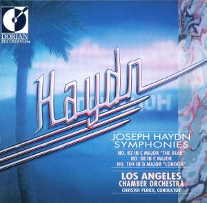 Haydn: Symphonies Nos. 38, 82 & 104 Product Image