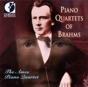 Piano Quartets of Brahms Product Image