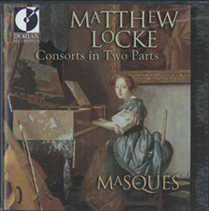 Matthew Locke: Consorts In Two Parts Product Image