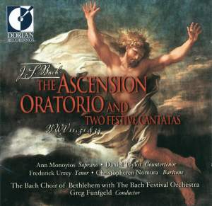 Bach: Ascension Oratorio and two Festival Cantatas Product Image