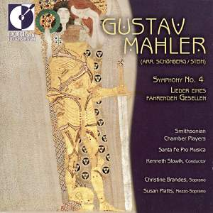 Mahler: Symphony No. 4 & Lieder eines fahrenden Gesellen Product Image