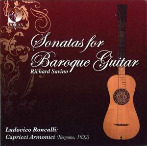 Roncalli: Sonatas for Baroque Guitar